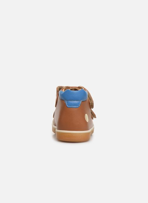 Ankle boots Babybotte Arman Brown view from the right