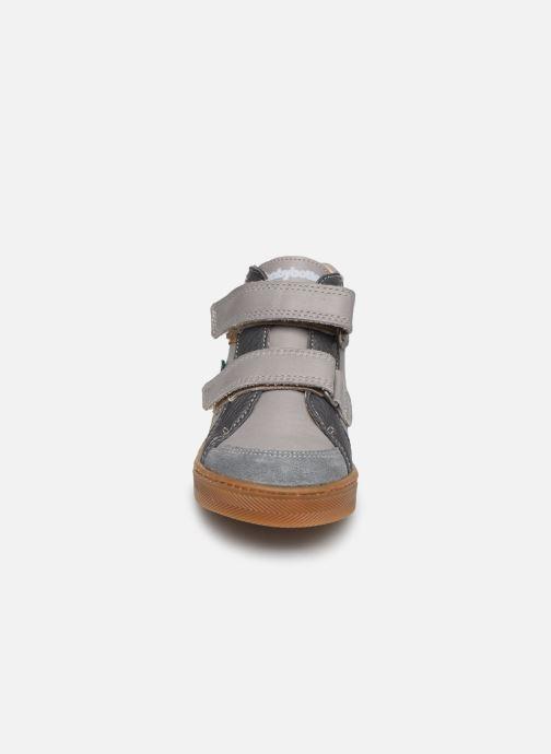 Bottines et boots Babybotte Asteroide Gris vue portées chaussures