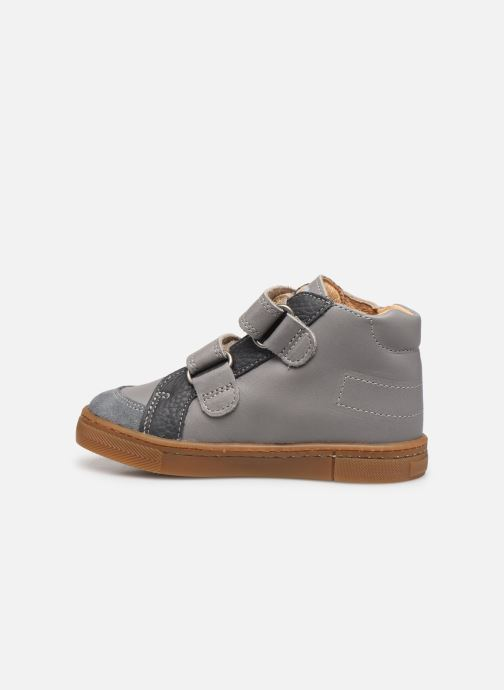 Ankle boots Babybotte Asteroide Grey front view