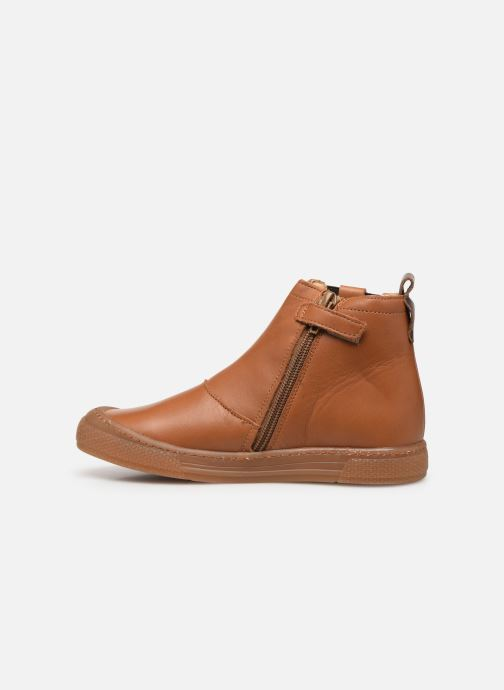 Ankle boots Babybotte Kurt Brown front view