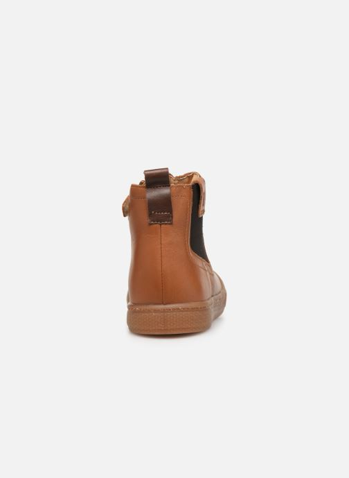 Ankle boots Babybotte Kurt Brown view from the right