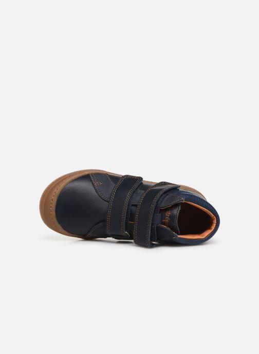 Sneakers Babybotte Kiwy Blå se fra venstre