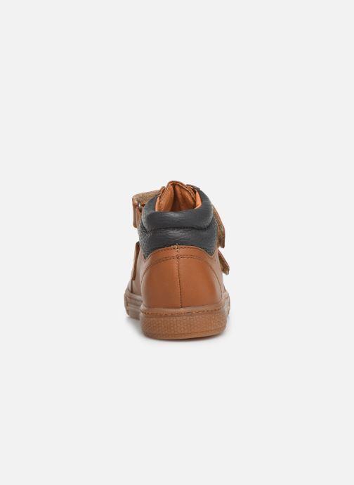 Sneakers Babybotte Kiwy Brun Se fra højre