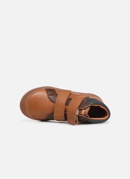 Sneakers Babybotte Kiwy Bruin links