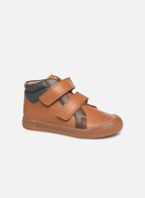Sneakers Babybotte Kiwy Brun detaljeret billede af skoene