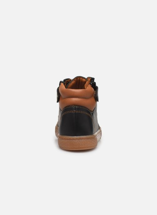 Trainers Babybotte Kaky Black view from the right