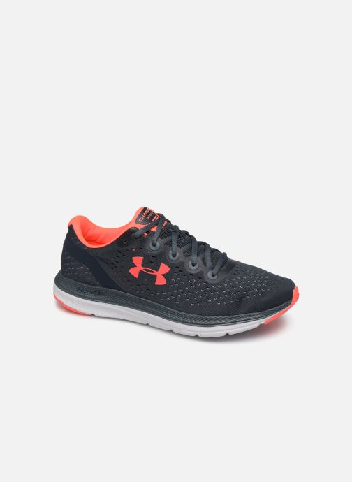 Chaussures de sport Under Armour UA Charged Impulse Gris vue détail/paire