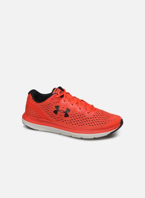 Chaussures de sport Under Armour UA Charged Impulse Rouge vue détail/paire