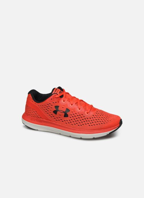 Chaussures de sport Under Armour UA Charged Impulse Rouge vue détail/paire