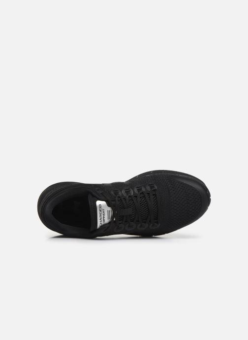 Zapatillas de deporte Under Armour UA Charged Bandit 5 Negro vista lateral izquierda