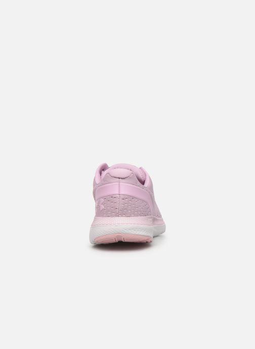 Chaussures de sport Under Armour UA W Charged Impulse Rose vue droite