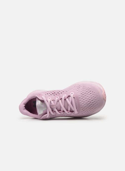 Sport shoes Under Armour UA W Charged Impulse Pink view from the left
