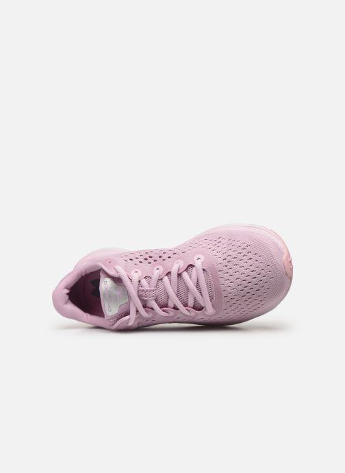 Chaussures de sport Under Armour UA W Charged Impulse Rose vue gauche