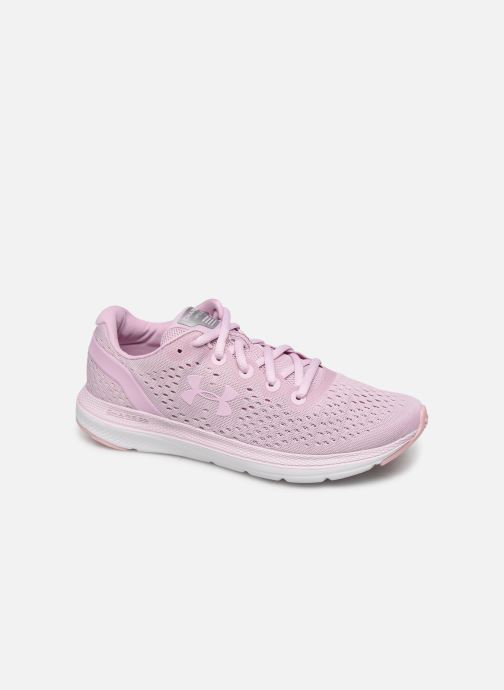 Chaussures de sport Under Armour UA W Charged Impulse Rose vue détail/paire