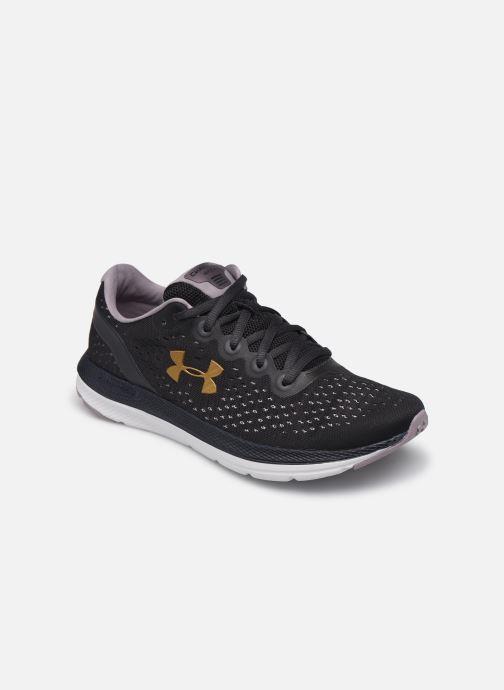 Chaussures de sport Under Armour UA W Charged Impulse Violet vue détail/paire