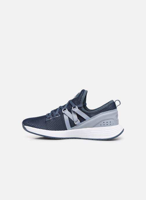 Chaussures de sport Under Armour UA W Breathe Trainer x NM Bleu vue face