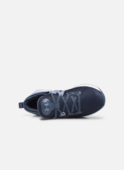Chaussures de sport Under Armour UA W Breathe Trainer x NM Bleu vue gauche