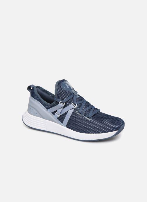 Chaussures de sport Under Armour UA W Breathe Trainer x NM Bleu vue détail/paire