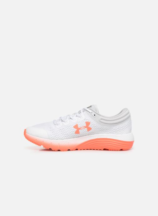 Scarpe sportive Under Armour UA W Charged Bandit 5 Bianco immagine frontale