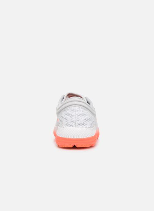 Chaussures de sport Under Armour UA W Charged Bandit 5 Blanc vue droite