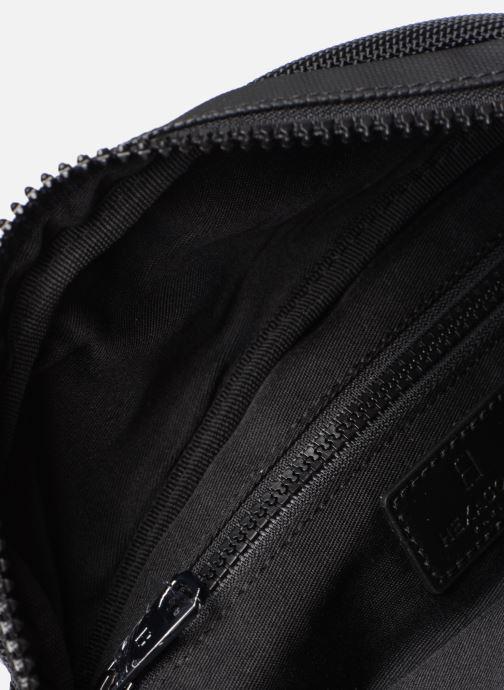 Kleine lederwaren Hexagona HORIZON BANANE Zwart achterkant