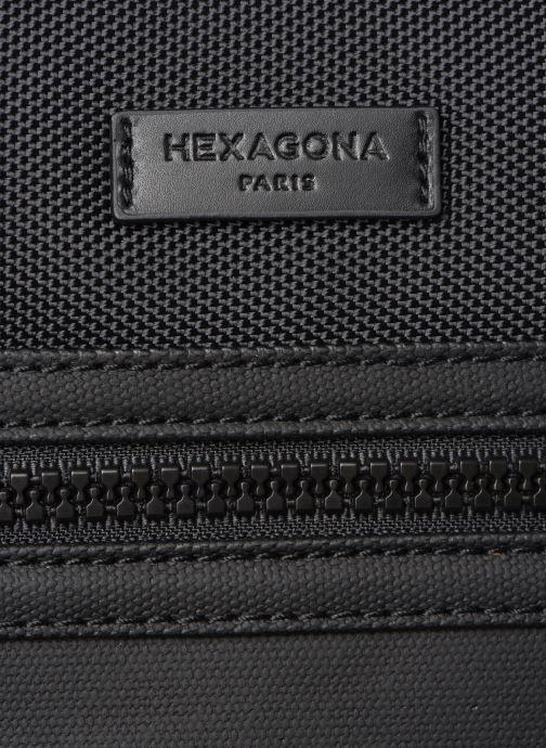 Herrentaschen Hexagona HORIZON SACOCHE schwarz ansicht von links