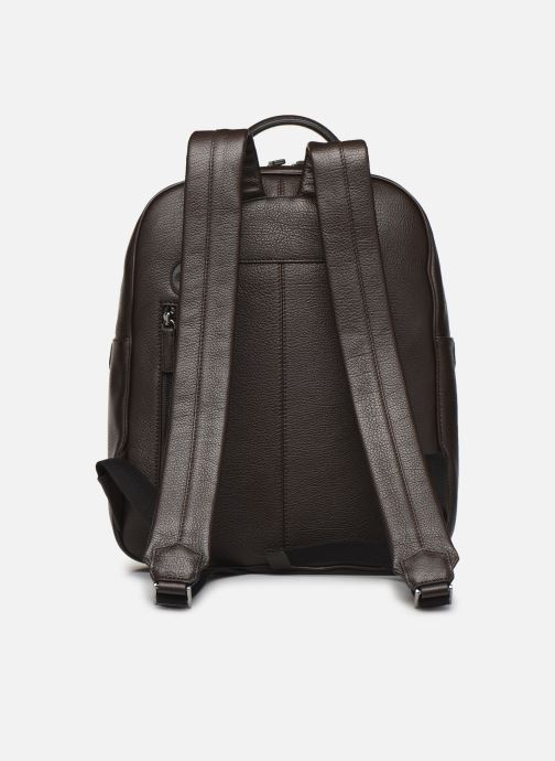 Maletín de ordenador Hexagona ENCORE CUIR SAC A DOS A4 TABLETTE Marrón vista de frente