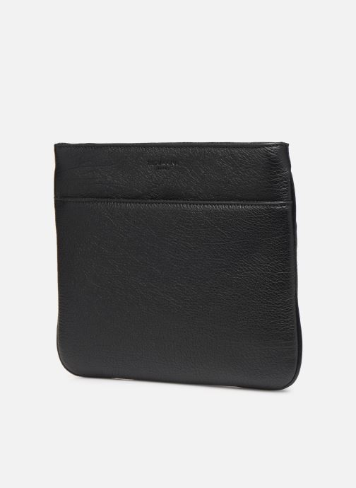 Bolsas de deporte Hexagona ENCORE CUIR BAG Negro vista del modelo