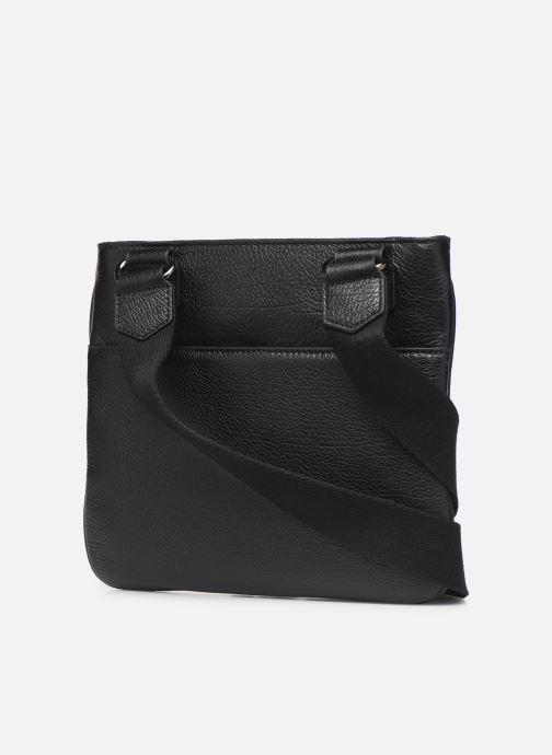 Sacs de sport Hexagona ENCORE CUIR BAG Noir vue droite