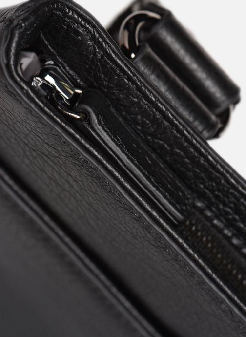Bolsas de deporte Hexagona ENCORE CUIR BAG Negro vista lateral izquierda