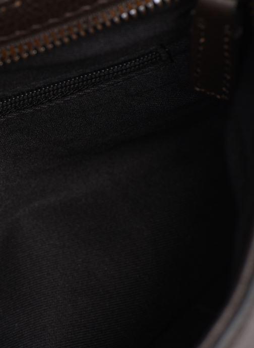 Sacs de sport Hexagona ENCORE CUIR BAG Marron vue gauche