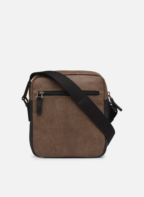 Sacs homme Hexagona JOURNEY CROSSBODY ZIP Marron vue face