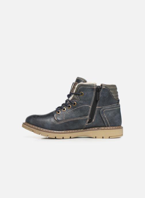 Bottines et boots Mustang shoes 5017623 Bleu vue face