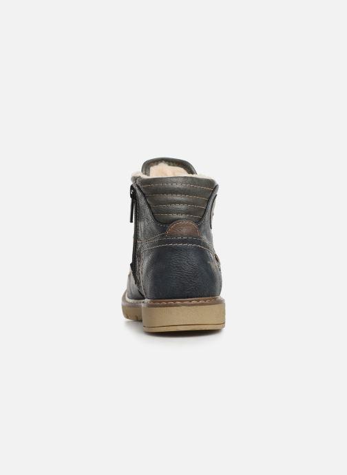 Bottines et boots Mustang shoes 5017623 Bleu vue droite