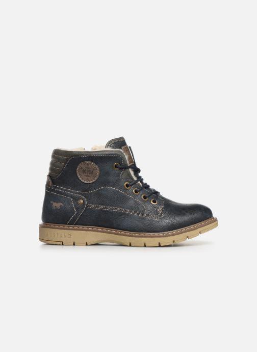 Bottines et boots Mustang shoes 5017623 Bleu vue derrière
