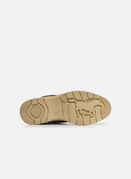 Bottines et boots Mustang shoes 5017623 Bleu vue haut