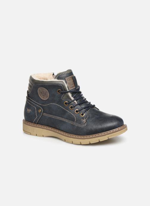 Ankelstøvler Mustang shoes 5017623 Blå detaljeret billede af skoene
