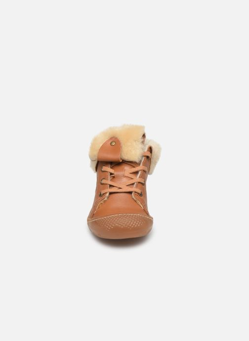 Ankelstøvler Babybotte Abufl Brun se skoene på