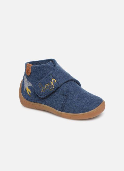 Pantuflas Babybotte Marseil Azul vista de detalle / par