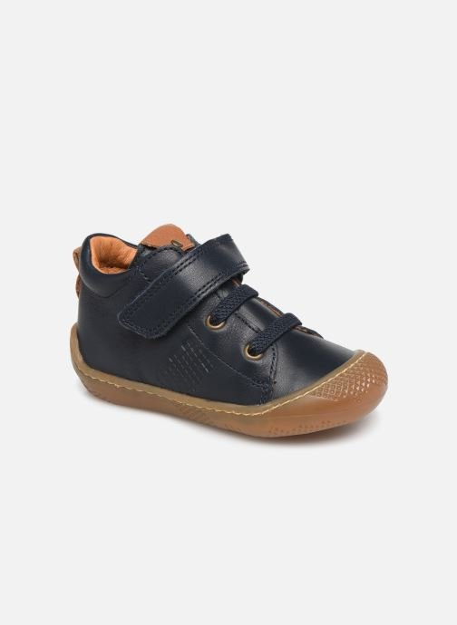 Ankle boots Babybotte Airmes Blue detailed view/ Pair view