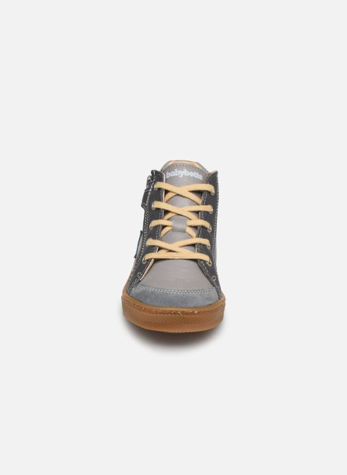 Stiefeletten & Boots Babybotte Aitoil grau schuhe getragen