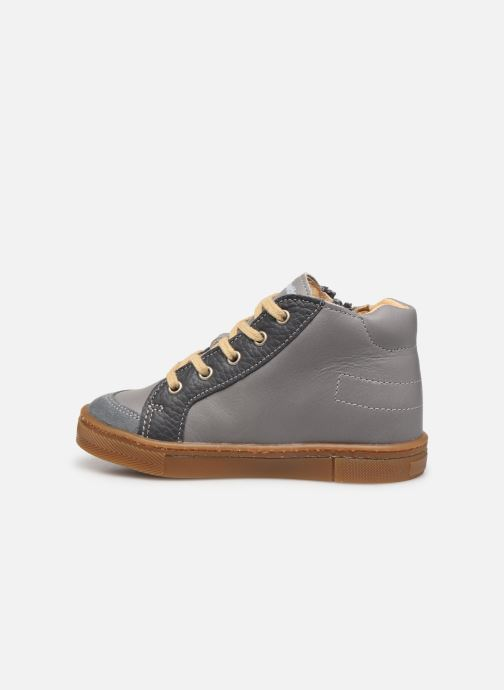 Ankle boots Babybotte Aitoil Grey front view