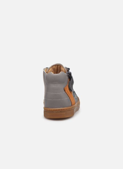 Ankle boots Babybotte Aitoil Grey view from the right