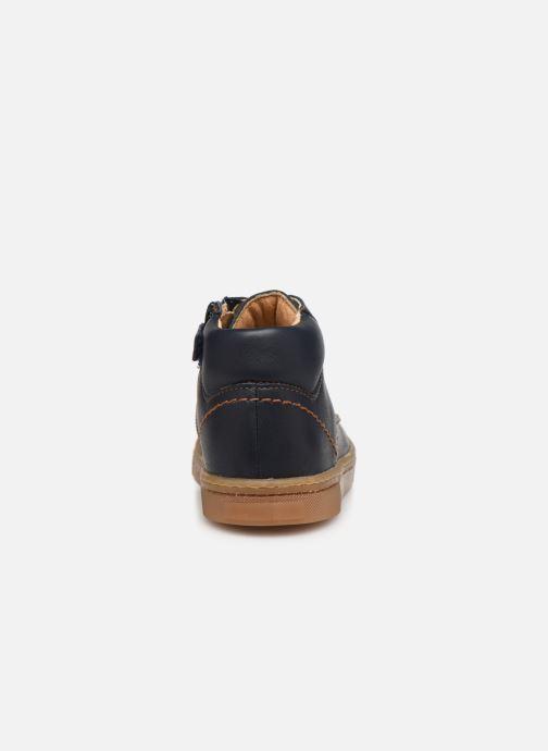 Sneakers Babybotte Kroket Blauw rechts