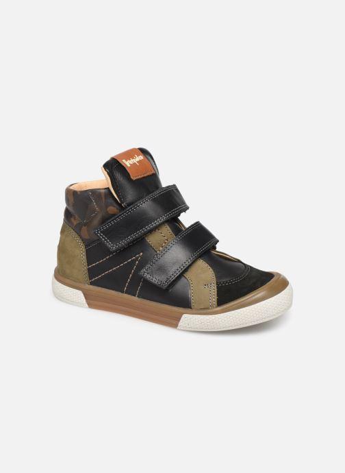 Sneakers Babybotte Kub Sort detaljeret billede af skoene