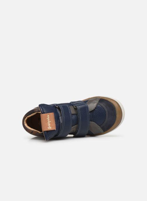Sneakers Babybotte Kub Blauw links