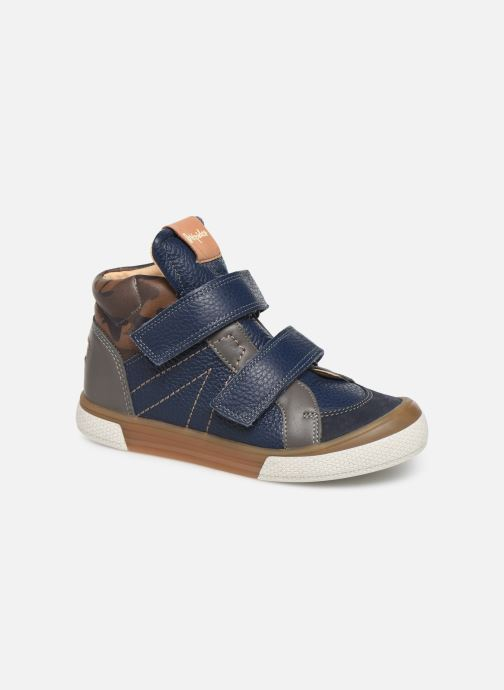 Sneakers Babybotte Kub Blauw detail
