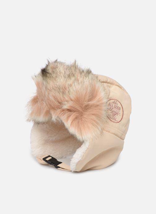 Bonnets IKKS JUNIOR  Chapka XP90020 Blanc vue détail/paire