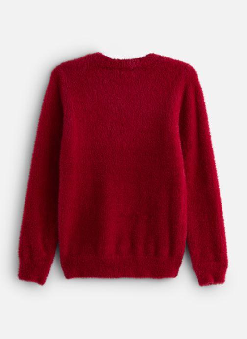 Vêtements IKKS JUNIOR  Pull ML XP18002 Rouge vue bas / vue portée sac