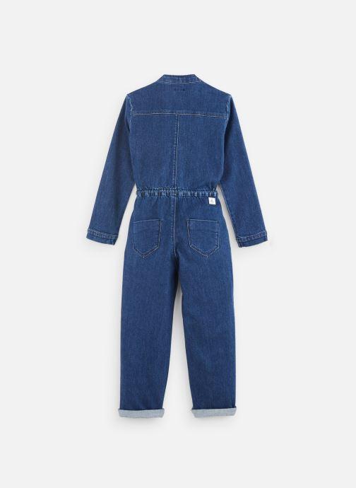 Vêtements IKKS JUNIOR  Combi Longue XP32002 Bleu vue bas / vue portée sac
